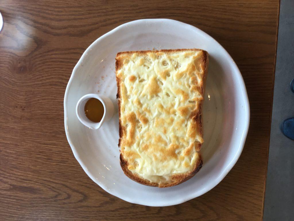 チーズハニートースト、はじめました。朝食に❗️ランチに‼️
