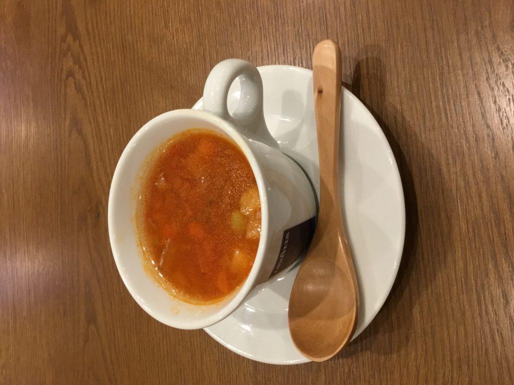寒い冬の朝食に具だくさんミネストローネはいかが❓